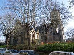 Ancienne église Saint-Etienne -  l'eglise du vieux st etienne a rennes