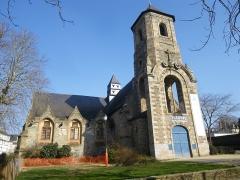 Ancienne église Saint-Etienne -  l'eglise du vieux st etienne rue d'echange a rennes