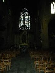 Eglise Saint-Germain -  l'interieur de l'eglise st germain a rennes