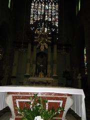 Eglise Saint-Germain -  le choeur de l'eglise st germain a rennes
