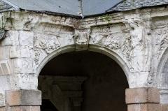 Hospice Saint-Mélaine - Français:   Angle sud-ouest du cloître de l\'ancienne abbaye saint Melaine de Rennes.