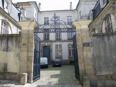 Ancien hôtel du Halgouët -  rue de corbin a rennes