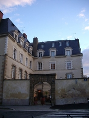 Ancien hôtel du Molant - English: Hôtel du Molant in Rennes