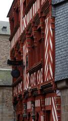 Maison du 16e siècle, dite Maison du Guesclin - English: Rennes