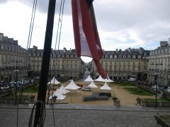 Place du Parlement de Bretagne -  la place du palais a rennes