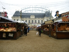Place du Parlement de Bretagne -  le marché de noel place du parlement a rennes