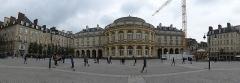 Théâtre et immeubles dits Galeries du Théâtre -  l'opera de rennes