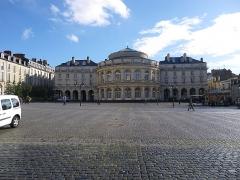 Théâtre et immeubles dits Galeries du Théâtre -  le theatre de rennes