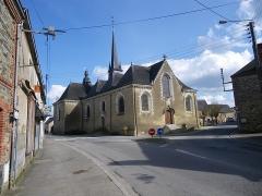 Eglise Saint-Armel -  l'eglise de st armel