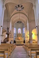 Eglise Saint-Briac - Français:   Nef de l\'église