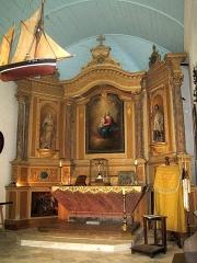 Malouinière de la Ville-Bague - English: chapel of la ville bague