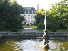 Malouinière de la Ville-Bague - English: garden of la ville bague