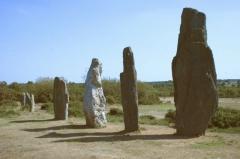 Ensemble mégalithique dénommé alignements de Cojoux -  Site mégalithique de St-just - france - Bretagne - Ille et Vilaine
