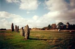 Ensemble mégalithique dénommé alignements de Cojoux -  Ille-Et-Vilaine Saint-Just Landes De Cojoux Megalithes