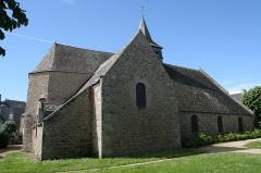 Ancienne église Saint-Lunaire - Français:   Vieille église de Saint-Lunaire.