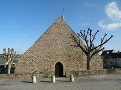 Ancienne église Saint-Lunaire - Français:   Façade ouest de la vieille église de Saint-Lunaire.
