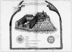 Ancienne abbaye Saint-Benoît, actuellement palais de justice - French archaeologist and historian