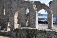 Cathédrale Saint-Pierre d'Aleth - English: Saint-Malo (France, Brittany) Cathédral of Aleth