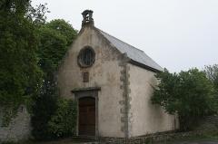 Château du Boscq, à Saint-Servan - Français:   La chapelle de la malouinière du Bosc à Saint-Malo.