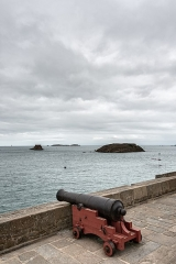 Fort du Petit Bé - English: With Grand Bé and Petit Bé in the background.