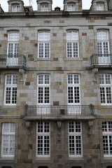 Maison ou hôtel de la Sauldre - Français:   Hôtel de la Sauldre à Saint-Malo: façade sur la rue d\'Orléans.