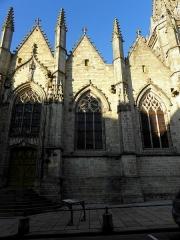 Eglise Notre-Dame - 4ème chapelle de la façade sud de l'église Notre-Dame de Vitré (35).