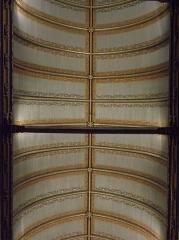 Eglise Notre-Dame - Église Notre-Dame de Vitré (35). Voûte de la nef.