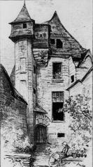 Ancien Hôtel du Bât ou du Bol d'Or - French journalist, caricaturist, illustrator, writer, science fiction writer and novelist