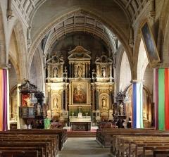 Eglise Saint-Gildas - English: Inside Church Saint-Gildas in Auray, France