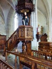 Eglise Saint-Goustan - Statue de Saint Goustan  Port Saint-Goustan un quartier Auray dans le Morbihan