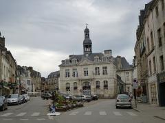 Hôtel de ville -  la mairie d'auray