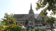 Chapelle de la Clarté - English: Church of the city BAUD