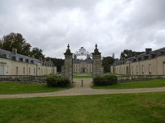 Château de Kerguéhennec et ses dépendances -  le chateau de kerguéhennec