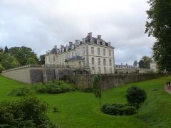 Château de Kerguéhennec et ses dépendances -  le chateau du domaine de kerguéhennec