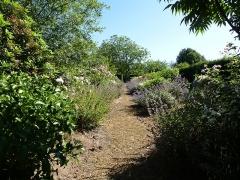 Manoir de Kergal -  le jardin du chateau de kergal
