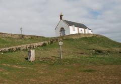 Croix - English: Carnac Tumulus St. Michel