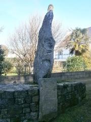 Menhir du bourg de Carnac - English: Menhir du bourg de Carnac