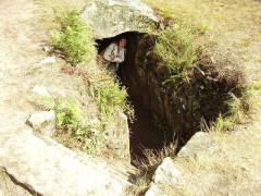 Tumulus à trois dolmens de Mané-Kérioned -  Mane-Kerioned, France