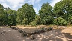 Tumulus dit du Manio, quadrilatère et menhir de Manio - English: Quadrilatère de Manio - Carnac, France