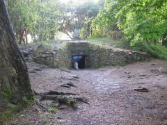 Tumulus-dolmen de Kercado - Deutsch: Tumulus von Kerkado, bei Carnac, Morbihan