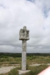 Tumulus-dolmen du Mont-Saint-Michel - Calvaire Saint-Michel
