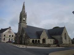 Eglise Saint-Jean-Baptiste - Français:   façade méridionale de l\'église Saint-Jean-Baptiste située à Le Croisty (Morbihan)
