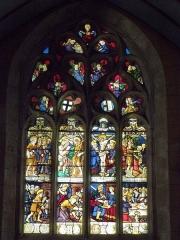 Eglise Saint-Jean-Baptiste - Français:   Maîtresse-vitre de l\'église Saint-Jean-Baptiste de Le Croisty (56).