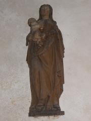 Eglise Saint-Jean-Baptiste - Français:   Statue de la Vierge à l\'Enfant de l\'église Saint-Jean-Baptiste de Le Croisty (56).