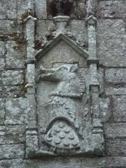 Ancienne forteresse ou ancien château de Largouët - Blason