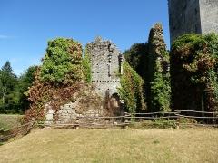 Ancienne forteresse ou ancien château de Largouët -  la forteresse de largoet