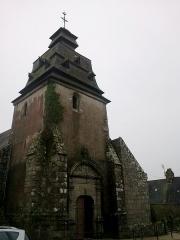 Eglise paroissiale Notre-Dame de l'Assomption -  Morbihan Le Faouet Notre-Dame 12012014