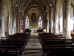 Eglise paroissiale Notre-Dame de l'Assomption - English: Nef de l'église Notre-Dame-de-l'Assomption du Faouët, Morbihan