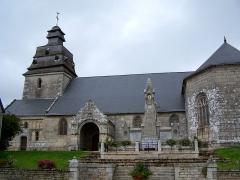 Eglise paroissiale Notre-Dame de l'Assomption - English: View of the church Notre-Dame-de-l'Assomption at Le Faouët, France
