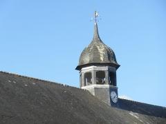 Vieilles halles - Français:   Clocher à huit pans coiffé d\'un bulbe sur le toit des halles de Le Faouët